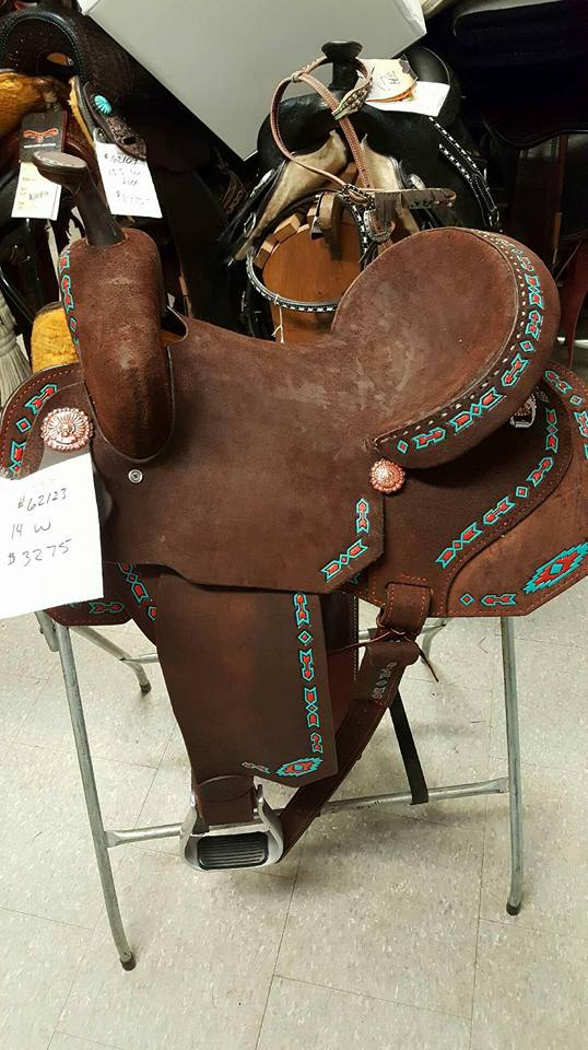 Horse Tack World - *DOUBLE J LYNN MCKENZIE SADDLES (L@@K**FREE 5